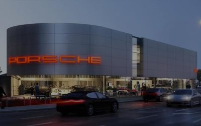 Porsche Showroom, Preston